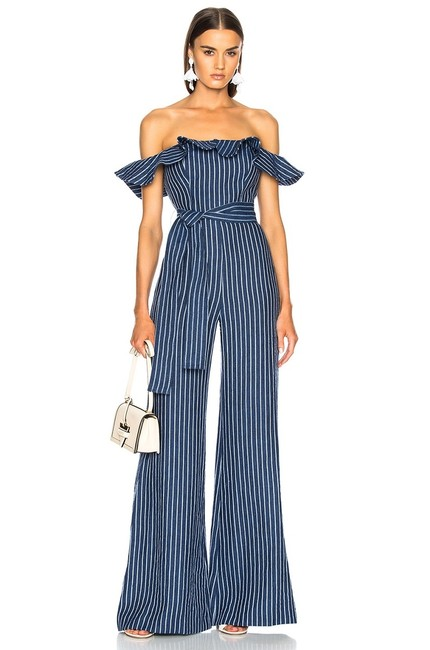 Preload https://img-static.tradesy.com/item/25213838/alexis-blue-denim-pinstripe-ruffle-off-the-shoulder-wide-leg-romperjumpsuit-0-0-650-650.jpg