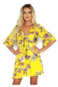 The Room short dress yellow Of Texas on Tradesy