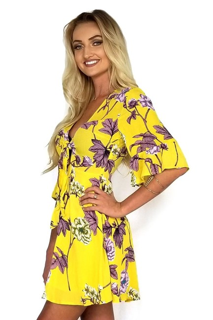 The Room short dress yellow Of Texas on Tradesy Image 1