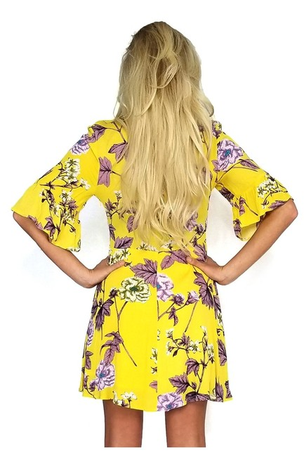 The Room short dress yellow Of Texas on Tradesy Image 2