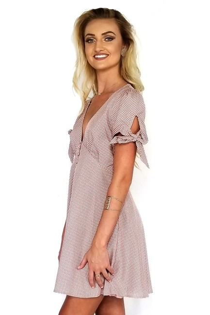 En Crème short dress Can't Take My Eyes Mauve Of You on Tradesy Image 1