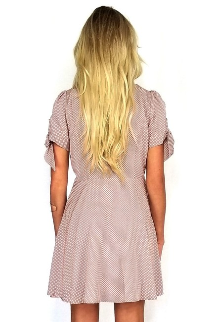 En Crème short dress Can't Take My Eyes Mauve Of You on Tradesy Image 2