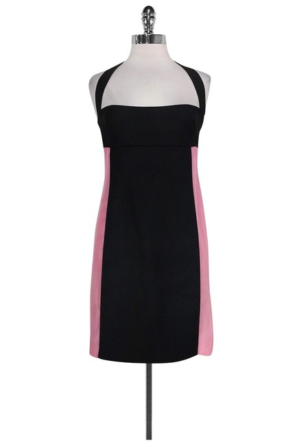 CoSTUME NATIONAL short dress Black Pink Fitted on Tradesy Image 0