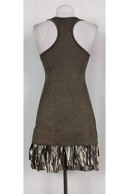 Bailey 44 short dress gold Metallic Racer Back on Tradesy Image 2