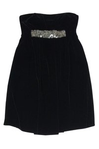 Vera Wang short dress Black Lavender Label Velvet on Tradesy