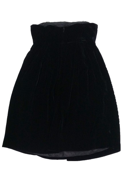 Vera Wang short dress Black Lavender Label Velvet on Tradesy Image 1