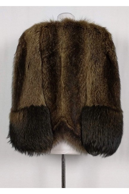 Givenchy Raccoon Fur Cape Image 1