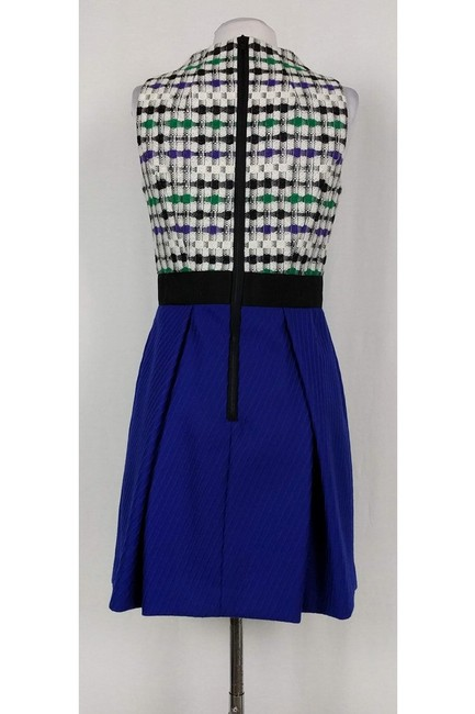 MILLY short dress Patterned Wool Fit N' Flare on Tradesy Image 2