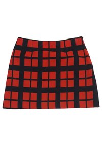 Tara Jarmon Plaid Mini Skirt