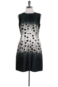 MILLY short dress Ombre Floral Fit N' Flare on Tradesy