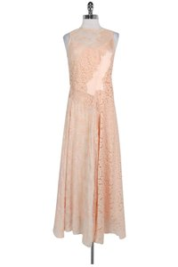 pink Maxi Dress by Rebecca Taylor Blush Lace Maxi