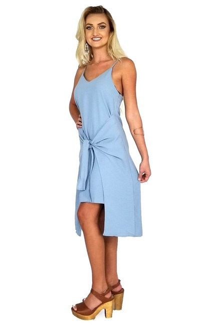 She + Sky short dress blue I Only Have Ties For on Tradesy Image 1