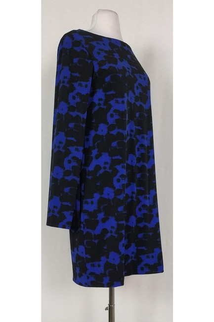 Nicole Miller short dress Blue Black Printed on Tradesy Image 1