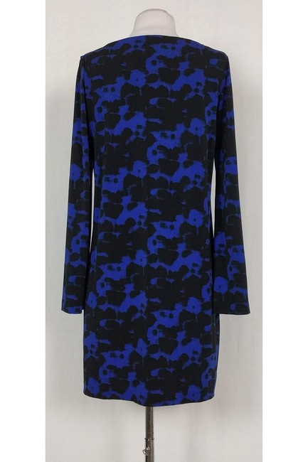 Nicole Miller short dress Blue Black Printed on Tradesy Image 2