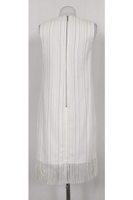 Karl Lagerfeld short dress White W/ Metallic Threads on Tradesy Image 2