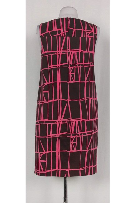 David Meister short dress Brown And Pink Shift on Tradesy Image 2