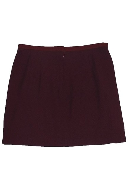 Dolce&Gabbana Dark Red Mini Skirt Image 1