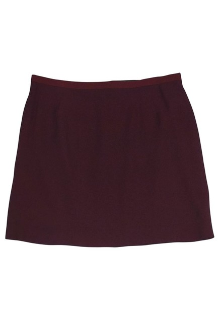 Dolce&Gabbana Dark Red Mini Skirt Image 2