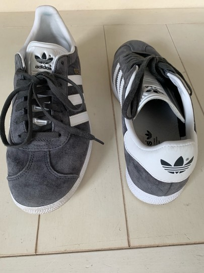 adidas gray Athletic Image 7