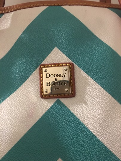 Dooney & Bourke Tote in Blue and white Image 3