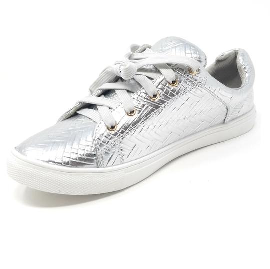 Forever Young Fashion Sneakers Sneakers Silver Athletic Image 1