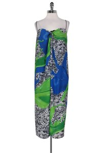 Maxi Dress by Clover Canyon Abstract Print Maxi