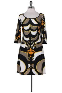 Emilio Pucci short dress Multicolor Abstract Print on Tradesy