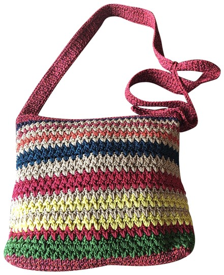 Preload https://img-static.tradesy.com/item/25214398/the-sak-crochet-multicolor-fabric-cross-body-bag-0-1-540-540.jpg