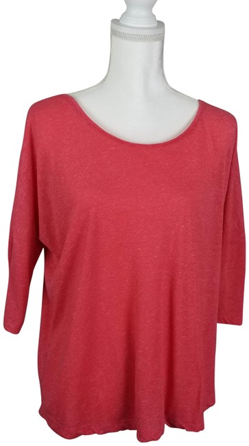Preload https://img-static.tradesy.com/item/25214449/cotton-on-coral-34-dolman-sleeves-blouse-size-8-m-0-1-650-650.jpg