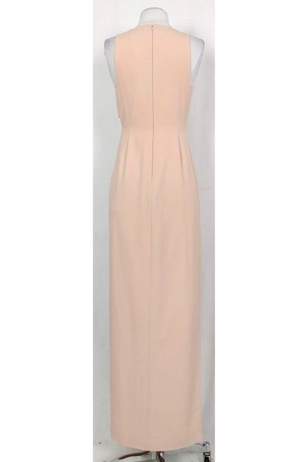 Mason Michelle Blush Gown With Cut Outs Dress Image 2