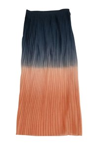 Cynthia Rowley Ombre Pleated Maxi Skirt