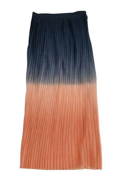 Cynthia Rowley Ombre Pleated Maxi Skirt Image 2
