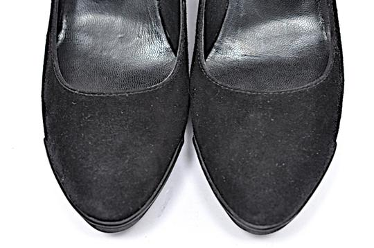 Tod's Patent Leather Suede Black Wedges Image 7