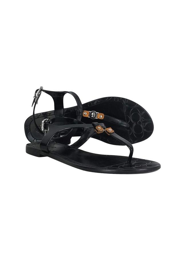 f4b1d1dfcae7 Coach Black Sandals Size US 7 Regular (M
