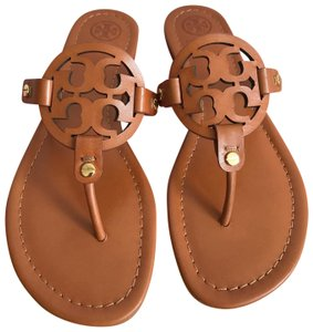 b2c77ebcad42 Tory Burch Brown 8.5m Miller Veg Leather Sandals. Size  US 8.5 Regular ...
