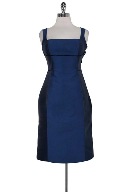 Item - Blue Short Casual Dress Size 4 (S)