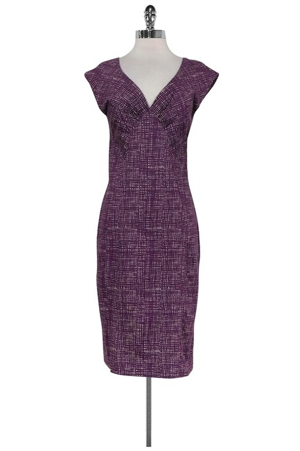 Samantha Sung Purple Short Casual Dress Size 8 (M) Samantha Sung Purple Short Casual Dress Size 8 (M) Image 1