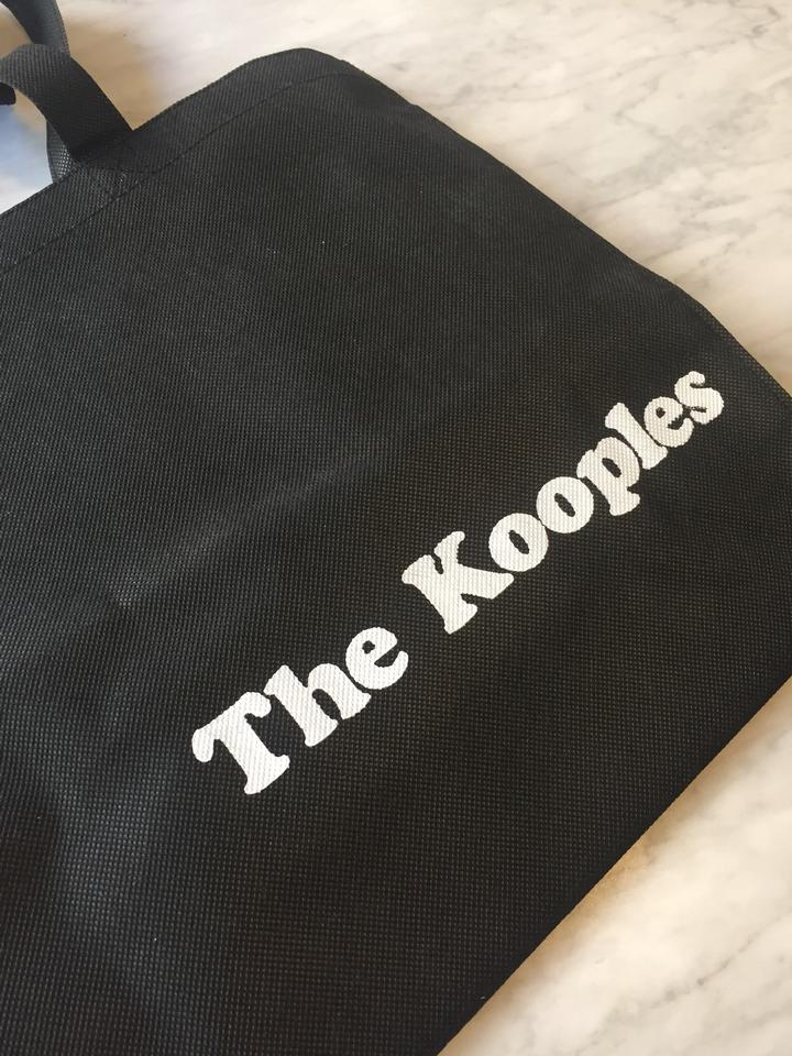 9aa1faef16 The Kooples Shopping Set Of Four Bags Black Canvas Tote - Tradesy