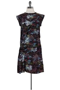 IRO short dress Multicolor Splatter Print on Tradesy