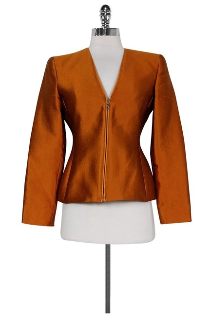 Item - Orange Blazer Size 4 (S)