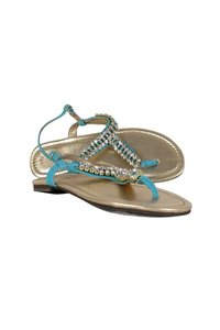 Lilly Pulitzer Rhinestone Blue Sandals