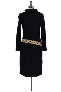 St. John short dress Black Collection Knit W/ Collar on Tradesy
