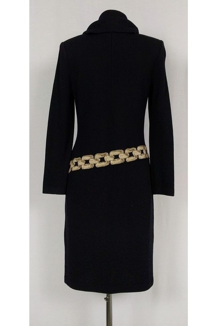 St. John short dress Black Collection Knit W/ Collar on Tradesy Image 2