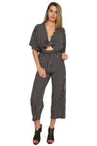 Olivaceous For All The Stripe Reasons Dress