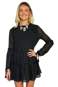 Olivaceous short dress black New Sheers Resolution on Tradesy