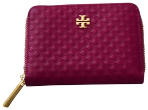 04f1c9a8a Tory Burch Tory Burch Marion Embossed Zip Coin Case Party Fuschia