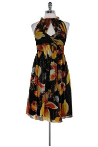 Anna Sui short dress Floral W/ Open Back on Tradesy