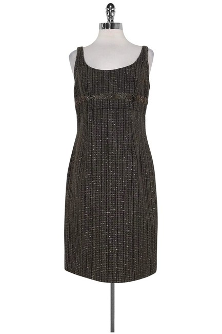 Item - Brown Short Casual Dress Size 6 (S)