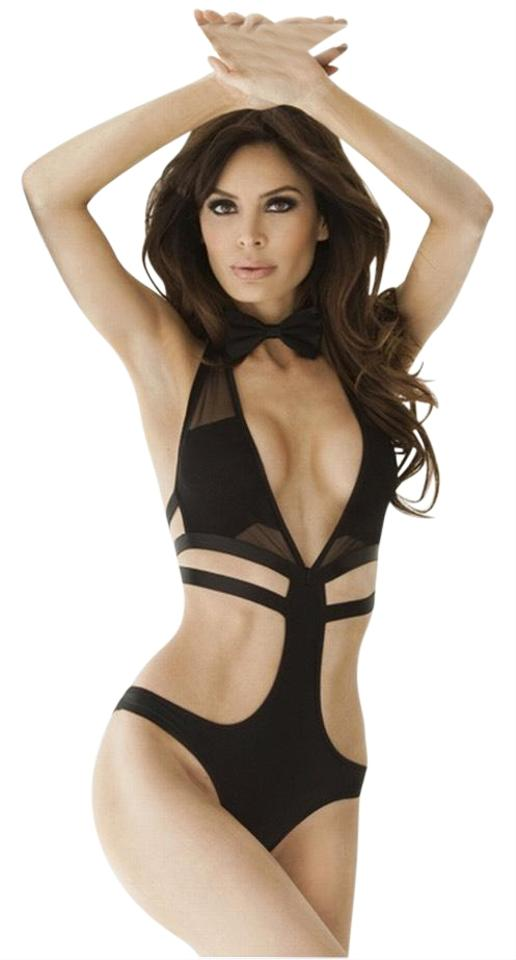 temperament shoes recognized brands to buy Black Foreplay Skimpy Monokini One-piece Bathing Suit Size 4 (S) 67% off  retail