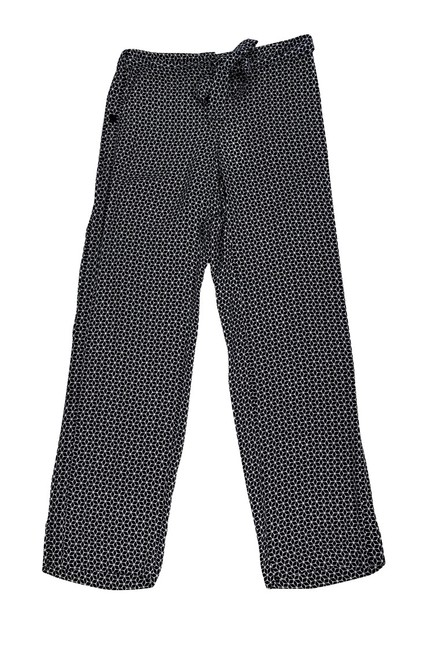 Theory Tile Geo Print Silk Trouser Pants Image 2